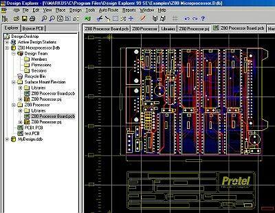 Protel pcb design software for windows 7