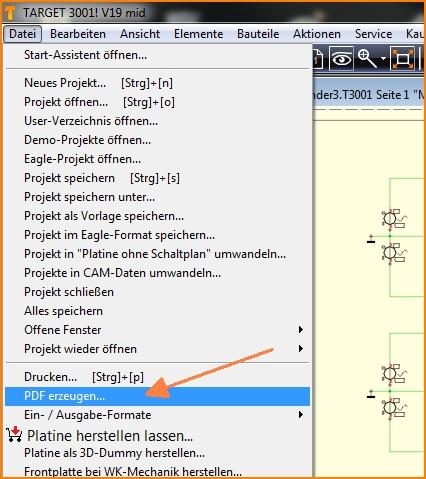 Druck-Script Format – TARGET 3001! PCB Design Freeware ist eine ...