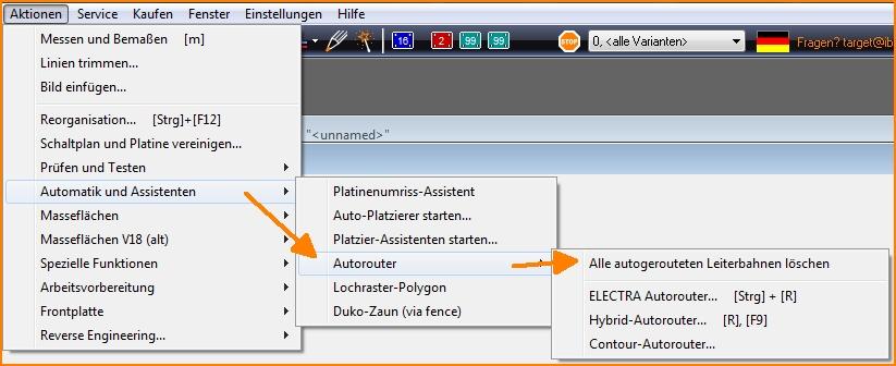 Autorouter – TARGET 3001! PCB Design Freeware ist eine Layout CAD ...