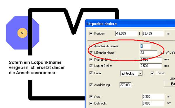 anschlussnummer target 3001 pcb design freeware ist. Black Bedroom Furniture Sets. Home Design Ideas