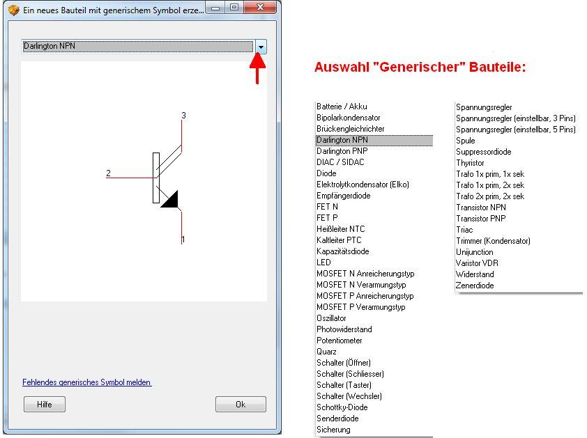 Neue Bauteile erzeugen – TARGET 3001! PCB Design Freeware ist eine ...