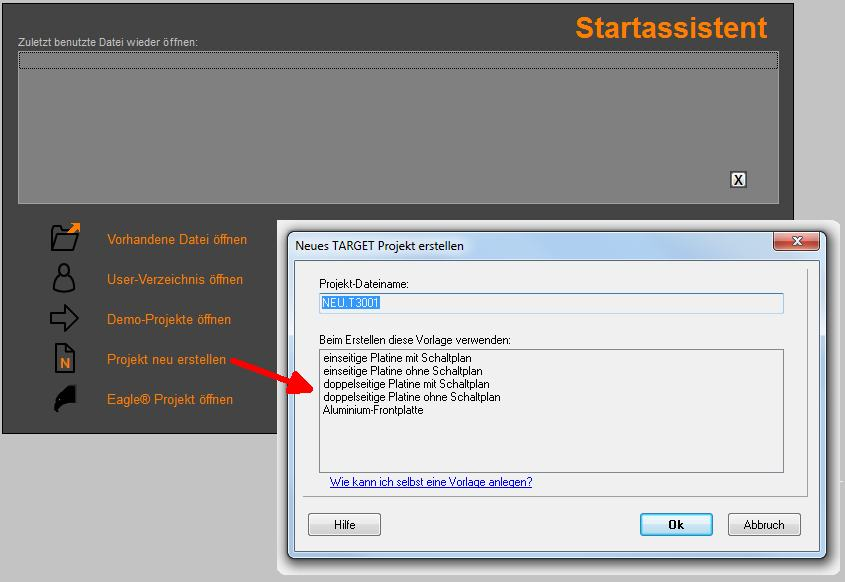 Projekt – TARGET 3001! PCB Design Freeware ist eine Layout CAD ...
