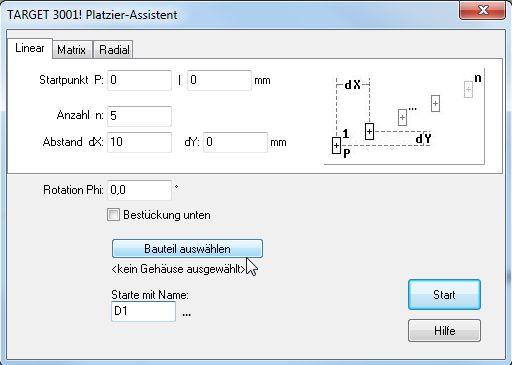 Platzier-Assistent – TARGET 3001! PCB Design Freeware ist eine ...