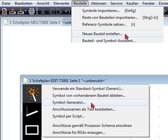 Einfaches Schaltplansymbol erstellen – TARGET 3001! PCB Design ...