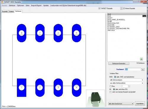 Platine ohne Schaltplan – TARGET 3001! PCB Design Freeware ist eine ...
