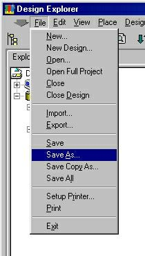 Convert PROTEL Schematic Files ( sch) to TARGET 3001