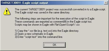 Convert TARGET 3001! to Eagle - TARGET 3001! PCB Design