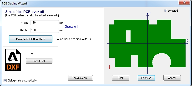 File:Pcb outline wizard jpg - TARGET 3001! PCB Design Freeware is a