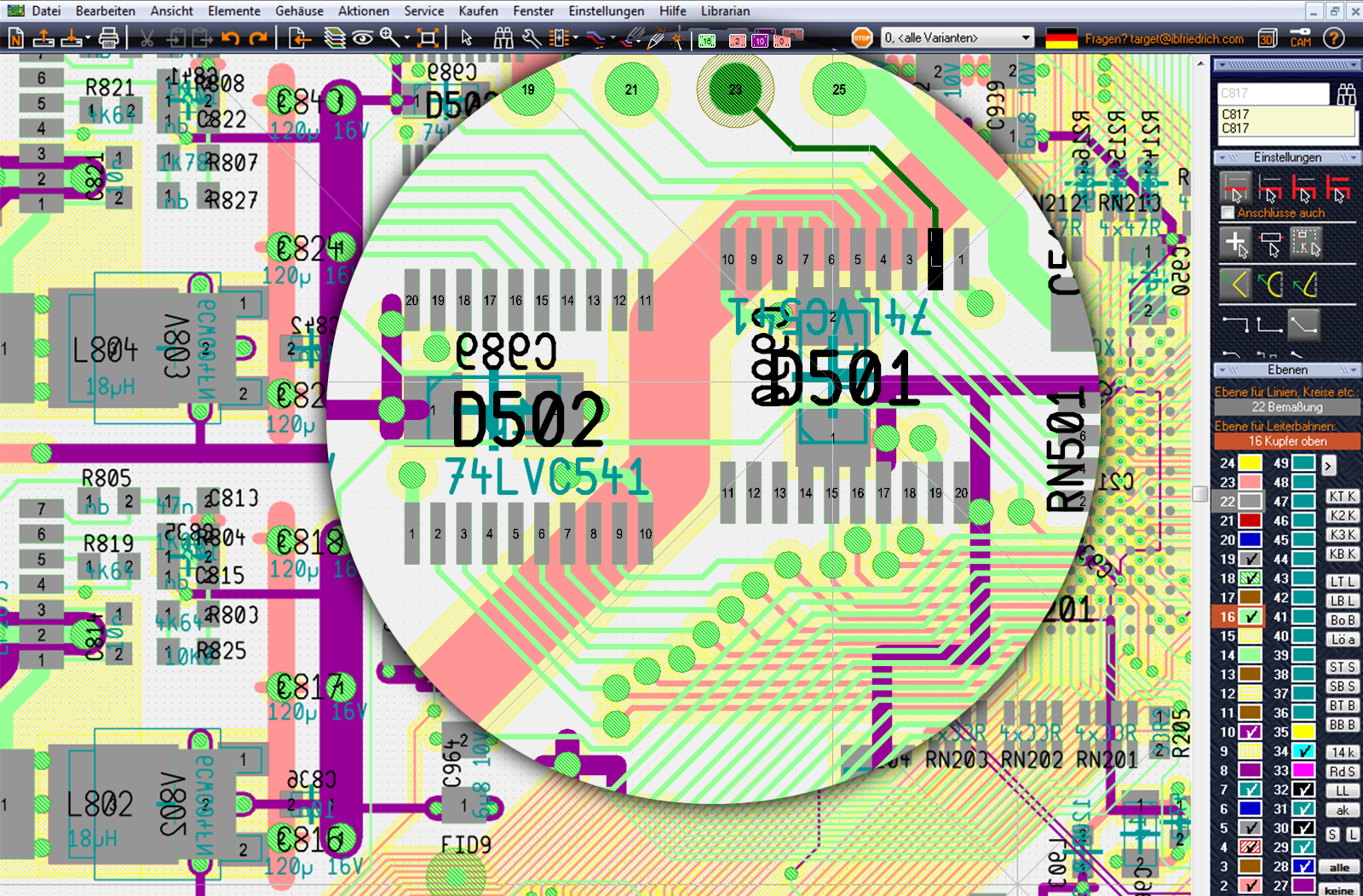 TARGET 3001! PCB Design Freeware is a Layout CAD Software|Support ...