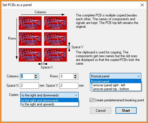 Panel - TARGET 3001! PCB Design Freeware is a Layout CAD