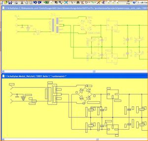 Image 3: Paste the schematic like a module