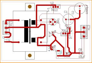 Image 2: Power supply (layout)